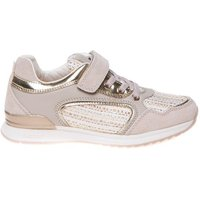 Geox Sneaker maisie embroidered textile suede taupe
