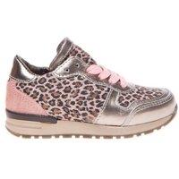 Pinocchio Sneaker leopard baby pink roze