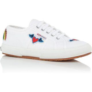 Superga Rainbow sneaker met applicaties