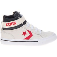 Converse Sneaker pro blaze strap high parchment st white wit