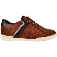 Le Coq Sportif Alsace low lea schoenen bruin