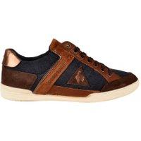 Le Coq Sportif Alsace low denim schoenen bruin