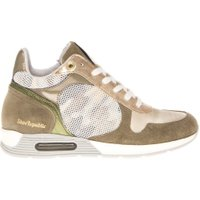Shoe Republic Sneaker mid eve gold/moss goud