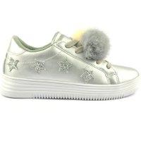 Miss Behave Sneakers zilver