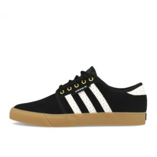 adidas Seeley Black White Gold