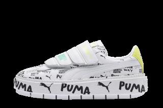 Puma Platform Trace Strap SM (Wit)