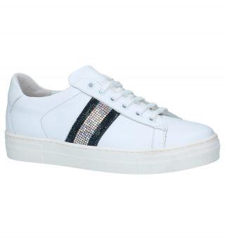 Lage Geklede Sneakers Hoops Hop 12 (wit)