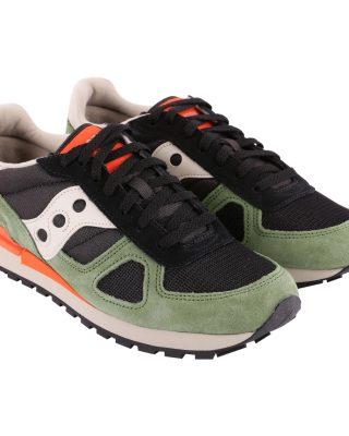 Saucony Saucony Shadow Original Suede Sneakers (zwart/groen)