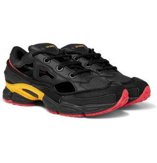 Raf Simons + Adidas Replicant Ozweego Sneakers – Black