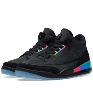 Air Jordan III Retro SE GS 'Quai 54' (Black)