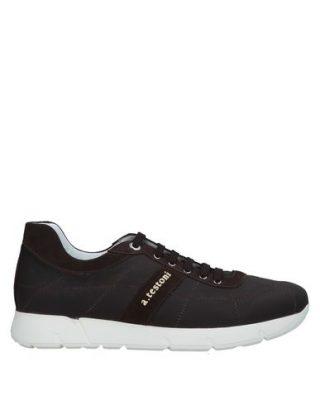 A.testoni 11543669NM Sneakers (bruin)