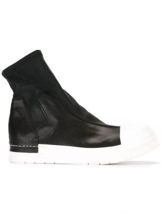Cinzia Araia elasticated hi-top sneakers (zwart)