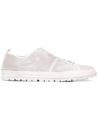 Marsèll perforated panel trainers (wit)