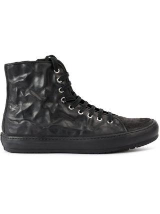 Both hi-top sneakers (zwart)