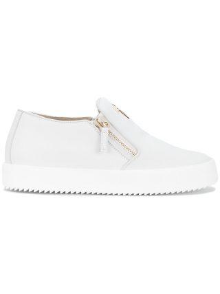 Giuseppe Zanotti Design Eve laceless sneakers - White