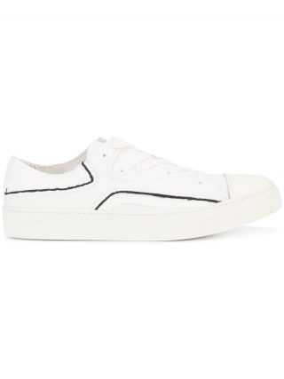 Yohji Yamamoto layered sneakers (wit)