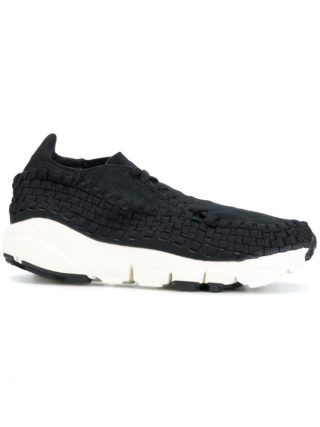 Nike woven footscape sneakers - Black