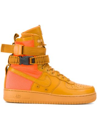 Nike SF AF1 sneakers - Yellow & Orange