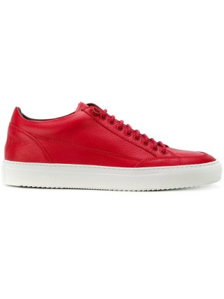 Mason Garments lace-up sneakers (rood)