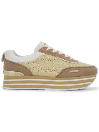 Versace Jeans platform runner sneakers (bruin)