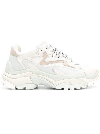 Ash ridged sole sneakers - White