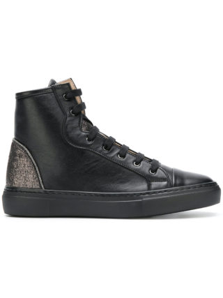 Fabiana Filippi embellished hi-top sneakers (zwart)