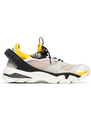 Calvin Klein 205W39nyc multicoloured Carlos 10 leather mesh sneakers