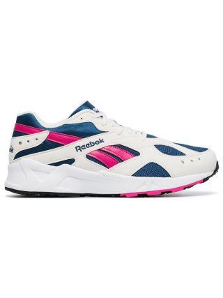 Reebok White low-top Aztrek sneakers