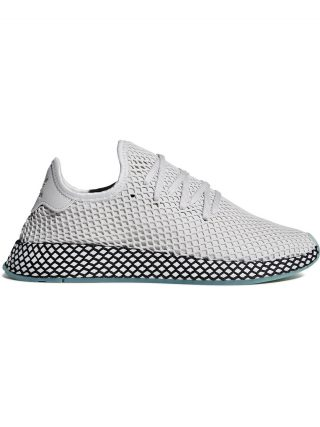 Adidas grey deerupt runner sneakers