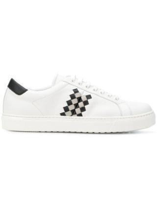Bottega Veneta Checker sneakers (wit)