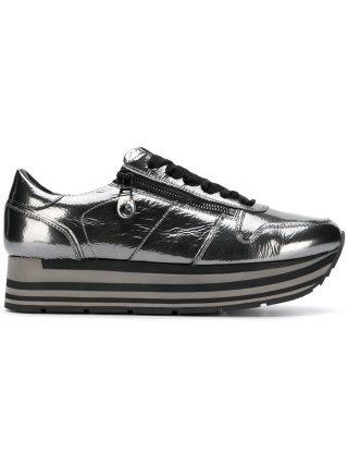 Kennel&Schmenger platform lace-up sneakers (grijs)