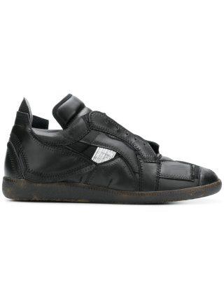 Maison Margiela collage sneakers (zwart)