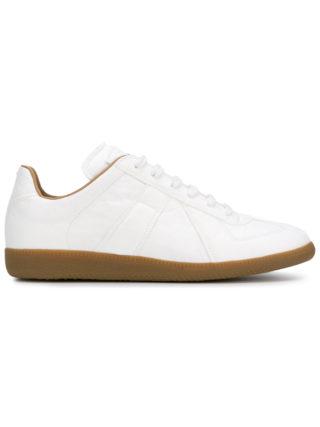 Maison Margiela Replica paper effect sneakers (wit)