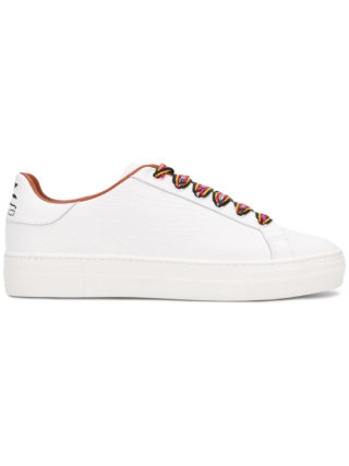 Etro contrast lace sneakers (wit)