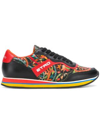 Etro floral runner sneakers (zwart)