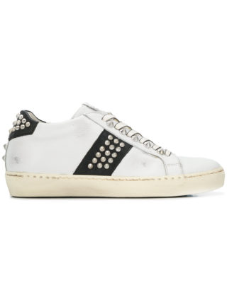 Leather Crown Wiconic sneakers - White