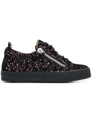 Giuseppe Zanotti Design Gail glittered sneakers (zwart)