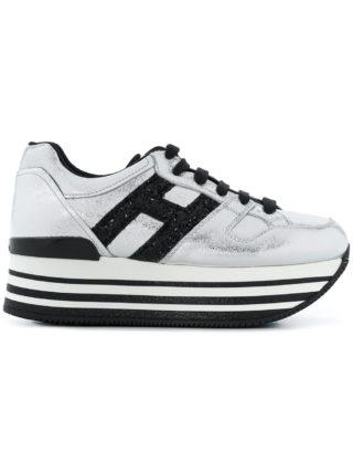 Hogan Maxi H222 sneakers - Metallic
