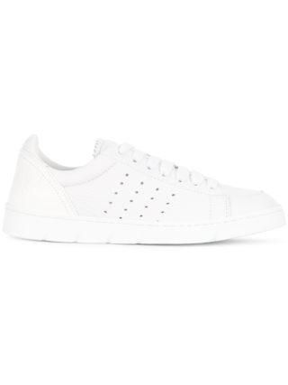 Loewe perforated detail sneakers (wit)