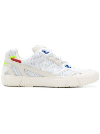 Both panelled sneakers (wit)