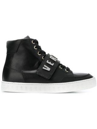 Versus logo lace-up sneakers (zwart)