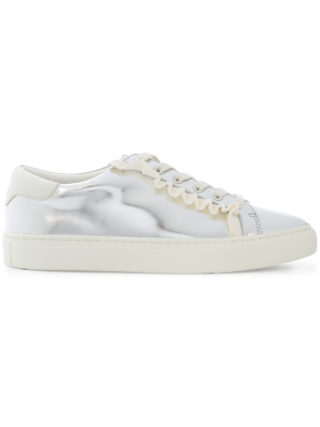 Tory Burch mirrored low-top sneakers (zilver)