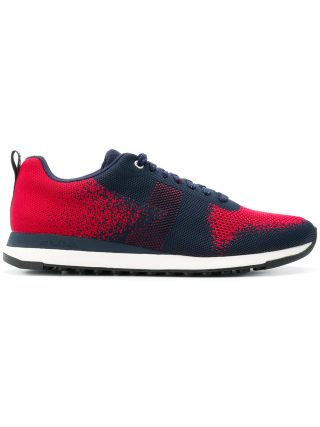 Ps By Paul Smith Rappid knitted sneakers (rood)