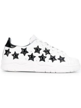 Chiara Ferragni contrast star sneakers (wit)