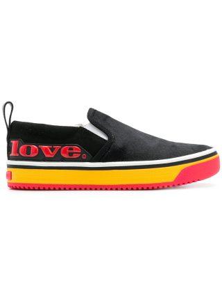 Marc Jacobs Love Mercer slip-on sneakers (zwart)