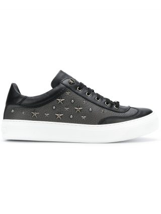 Jimmy Choo Ace leather trainers (zwart)