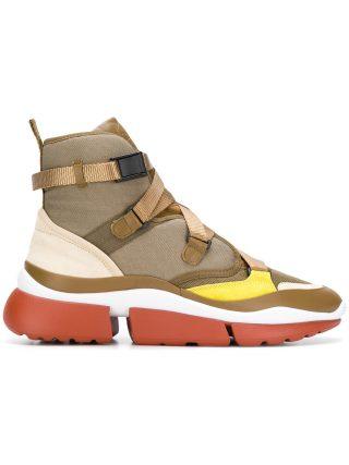 Chloé Sonnie sneakers (groen)