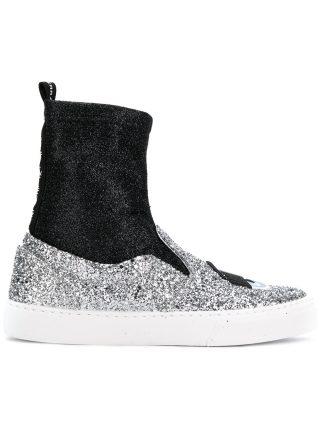 Chiara Ferragni Flirting sneakers (zilver)