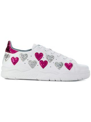 Chiara Ferragni Heart sneakers (wit)