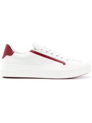 Salvatore Ferragamo low top sneakers (wit)
